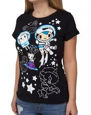 tokidoki Galactic Tee - Large (JuJuBe Space Place / TokiSpace print) shirt - NEW