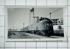Southern Pacific Railroad: Engine 6016?: 1968 Beaumont Texas Train Photo