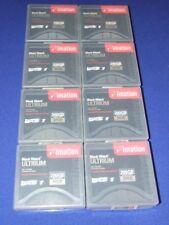 8 x Imation Black Watch Ultrium LTO 1 Data Cartridges 100/200GB New In Box