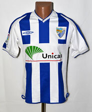 MALAGA SPAIN 2002/2003 HOME FOOTBALL SHIRT JERSEY UMBRO SIZE S ADULT