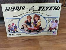 Radio Flyer Model 5 Kids Doll Red Wagon Brand New in Unopened Box Free Shipping