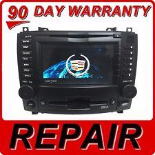 REPAIR SERVICE CADILLAC CTS GPS NAVIGATION CD BOSE RADIO GPS 6 DISC DVD FIX