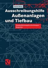 Ausschreibungshilfe Außenanlagen und Tiefbau, Martin Mittag