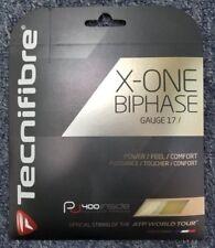 Tecnifibre X-One Biphase 17 Gauge 1.24mm Tennis String NEW Natural