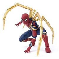 Play Arts Kai Marvel Spider-Man PVC Action Figure Statue Toy Spiderman Decor
