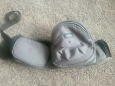 TushBaby Ergonomic Strapless Baby Hip Carrier 0-36 Months 8-44lbs Grey EUC