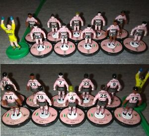 Subbuteo - FC Juventus Quarta Maglia Rosa 2020/21 Decals - Base Subbuteo Hasbro