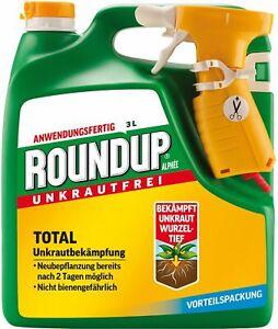 Celaflor Roundup Alphee 3L Unkrautfrei Unkrautvernichter Unkrautex gegen Unkraut