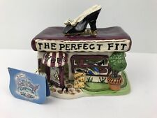 Blue Sky Clayworks The Perfect Fit Candle Shoe House W/ Tag No Box.