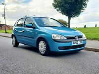 2002 Vauxhall Corsa 1.2 Comfort Auto Super low Mileage 5dr  Stunning ... PX !!