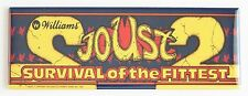 Joust 2 Marquee FRIDGE MAGNET (1.5 x 4.5 inches) arcade video game header