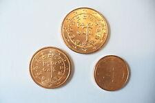 MONNAIES  PORTUGAL  - 1c , 2 c , 5 c / 2005   NEUVE !! (achat par trio) !