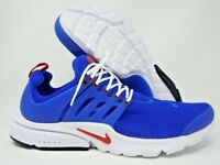 Nike Air Presto Essentials Mens Running Shoes White Blue Red Size 13