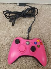OEM Microsoft Xbox 360 Wired Controller Hot Pink