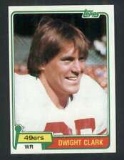 1981 Topps #422 Dwight Clark NM/NM+ RC Rookie 49ers 118133