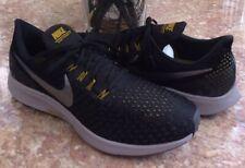 New Nike Air Zoom Pegasus 35 Men's Black Pewter Running Shoes Sz 114 #942851-013