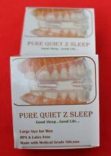 PURE QUIET Z's SLEEP ~ STOP SNORING MOUTHPIECE ~ SLEEP APNEA NIGHT GUARD AID PQZ