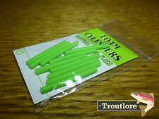 WAPSI CHARTREUSE FOAM CYLINDERS MEDIUM 1/8 INCH - NEW FLY TYING MATERIALS