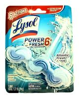 Lysol Power & Blue 6 Automatic Toilet Bowl Cleaner Atlantic Fresh 1 Pack