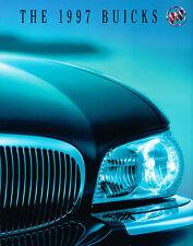 1997 Buick 112-page BIG Car Brochure Catalog Riviera Park Avenue Regal Century