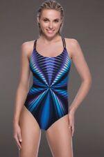 c361a5b80d9d0 Gottex Profile Swimsuit 12 One Piece Buena Vista High Neck Retail