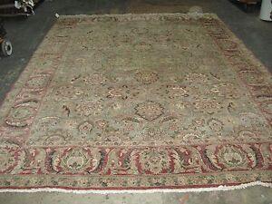 Safavieh Fine Hand knotted Chobi Peshawar Wool Area Rug 9'-3 x 12'-3