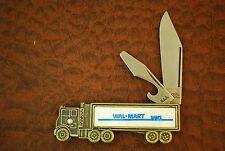 VINTAGE 1980's COLONIAL PROV RI USA WAL-MART SAMS CLUB SEMI TRAILER KNIFE (SM548