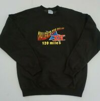 CHALLENGE CUP RELAY Sweatshirt,90's,Hollywood,Los Angeles, Sunset LARGE
