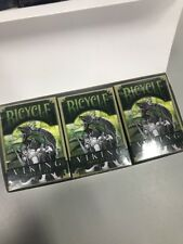 Full Brick Of Bicycle Viking Iron Scale Playing Cards Rare Sold Out Decks!