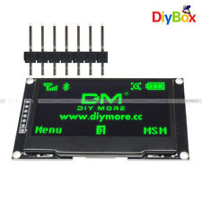 242 Inch Oled Lcd Display Ssd1309 128x64 Spiiic Serial Port Green For Arduino