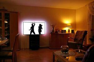 OpenElec LIGHT Plug&Play SET mit Raspberry PI 3 inkl. Ambient-Licht für jeden TV