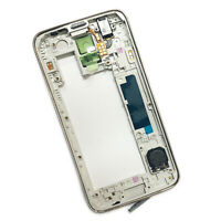 For Samsung Galaxy S5 Gold Rear Chassis Back Frame Bezel Repair IIIII v i9600