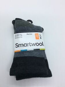 Smartwool One Pair Hiker Street Crew Socks Kids Size Large New With Tags