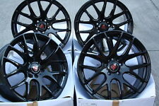 """ALLOY WHEELS X4 18"""" BLACK CS LITE FOR BMW 1 SERIES MINI COUNTRYMAN PACEMAN 5X120"""
