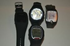 Lot of 4 Polar Sports Watches A300 F6 FT1 RS300 Heart Monitor