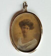 Silberrahmen mit dem Portrait einer jungen Frau, 'Dorothey' um 1925