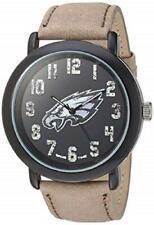 Philadelphia Eagles Game Time Men's 'Throwback' Quartz Metal and Leather Watch