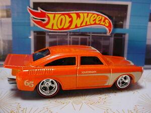 2011 Hot Wheels Garage '65 VOLKSWAGEN FASTBACK orange;redline real riders Loose