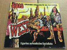 Album Figurine West Edis Completo Ottimo Raro