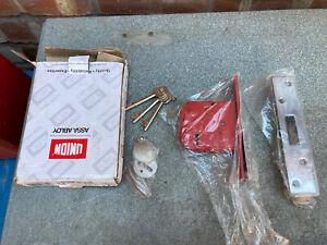 Union Assa Abloy J2134E-SC-3.00 5 Lever Mortice Deadlock