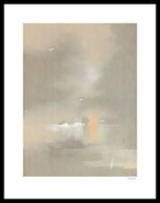 Walter Wrulich Studie 1 Poster Bild Kunstdruck im Alu Rahmen in schwarz 50x40cm