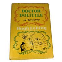 1967 First Edition DOCTOR DOLITTLE : A TREASURY by Hugh Lofting HCDJ Illustrated