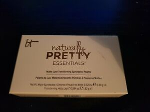 IT Cosmetics Naturally Pretty Essentials Matte Luxe Transforming Shadow Palette