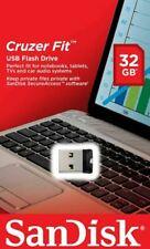 SanDisk 32 GB CRUZER FIT USB Memory Stick Flash Pen Drive Small USB 2.0 - 24HRS