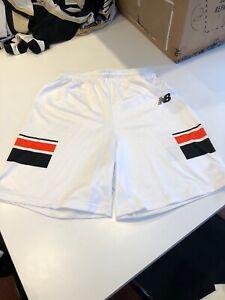 Game Worn Used Princeton Tigers New Balance Lacrosse LAX Shorts Size XL