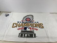 2016 Chicago Cubs World Series Champions Towel 22x42 Collector's Edition