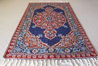 Kashmir Oriental Persian Design Handmade Wool Rug Carpet Antique Floor Decor