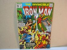The Invincible Iron Man 27 July Marvel Comics Vintage Comic Book  T*