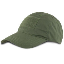 Bulldog Tactical Operator Contractor Patch Military Army Baseball Cap Hat Green