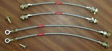 Saab 95 / 96 1.5 V4 67-80 Stainless Steel braided  clutch Line